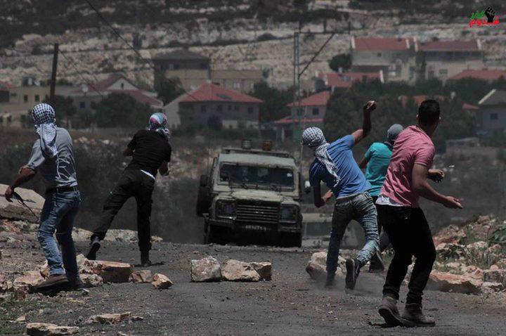 اندلاع مواجهات بين الشبان والاحتلال في كفر قدوم شرق قلقيلية
