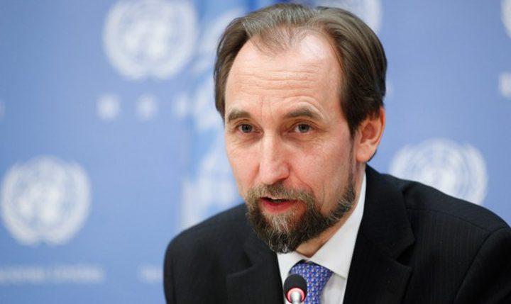 المفوض الأممي السامي يُعلن نيته ترك المنصب ردًا على قرار ترامب بشأن القدس