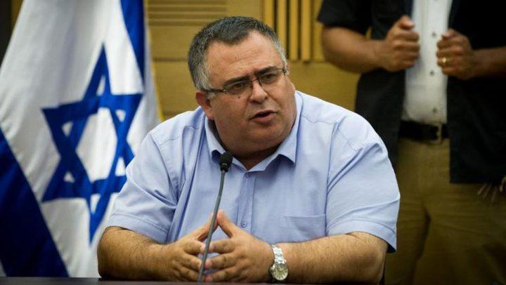 """عضو الكنيست الإسرائيلي """"دافيد بيتان"""" يستقيل بسبب قضايا فساد"""