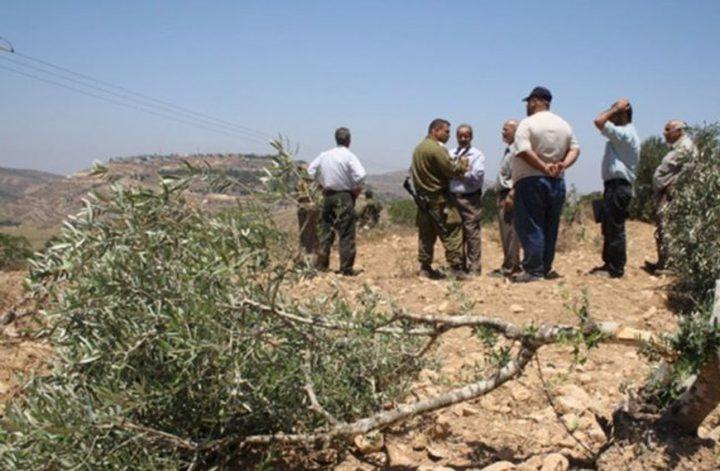 اندلاع مواجهات بين المواطنين وقوات الاحتلال جنوب نابلس(صور)