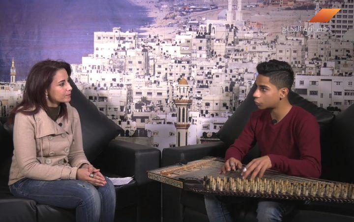 لقاء مع محمود كحيل الذي شارك ببرنامج عرب جوت تالنت (فيديو)