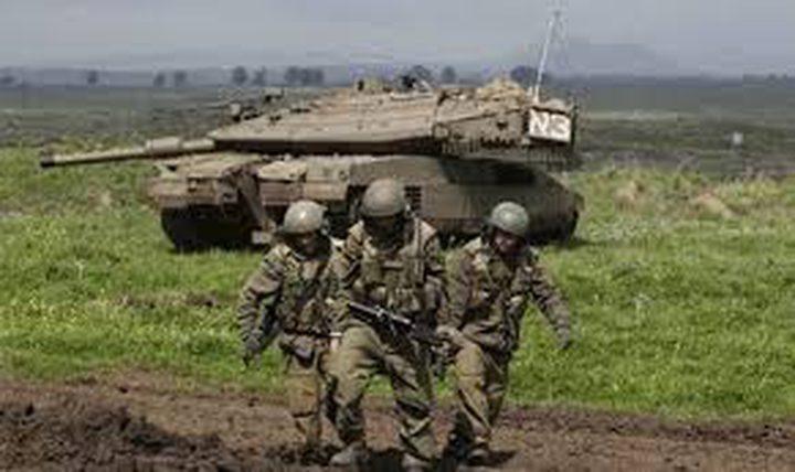 تدريبات عسكرية للاحتلال شرق طوباس واندلاع مواجهات