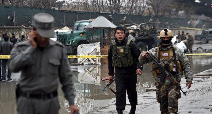 مقتل 6 على الأقل من أفراد الشرطة الأفغان في هجوم انتحاري لطالبان