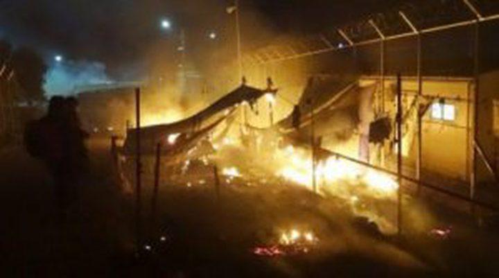 جرحى في جزيرة يونانية إثر قتال عنيف بين اللاجئين بينهم فلسطينيين