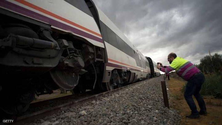 اصابة 45 شخصًا في حادث قطار قرب مدريد