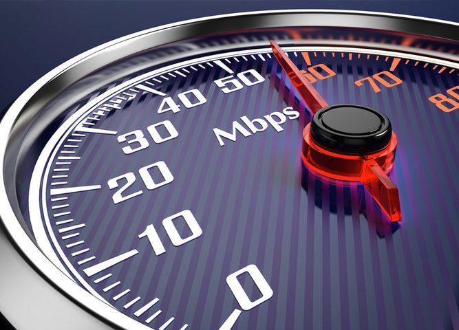 موقع مخصّص لقياس سرعة الإنترنت