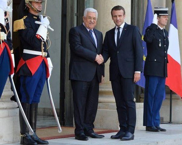 الرئيس من باريس: الاعتراف بدولة فلسطين هو استثمار في السلام