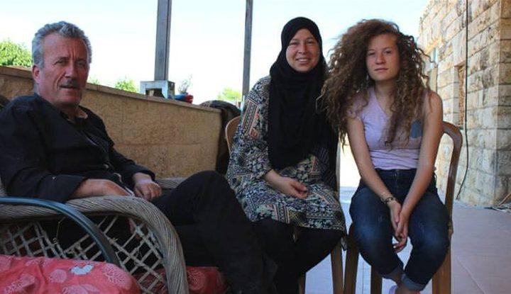 سلطات الاحتلال تمدد اعتقال عهد التميمي وعائلتها