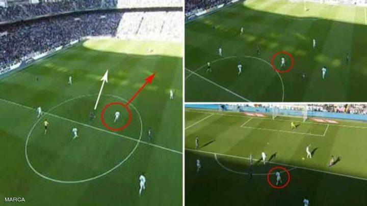 كيف ساهم ميسي في هدف دون أن يلمس الكرة؟
