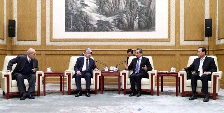 وفد فلسطيني يبحث في الصين ضرورة لعبها دورًا في عملية السلام