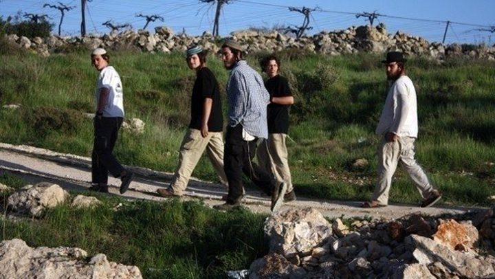 مستوطنون يهاجمون قرية مادما