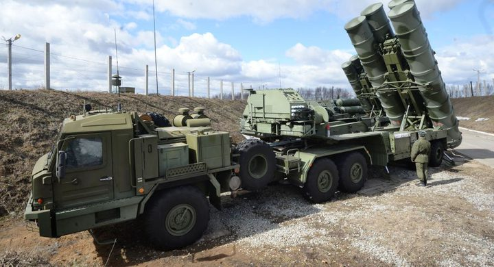 تصدير منظومات الدفاع الجوي إس-400 لتركيا