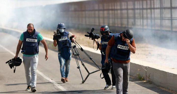 اصابة صحافي في مواجهات بيت لحم