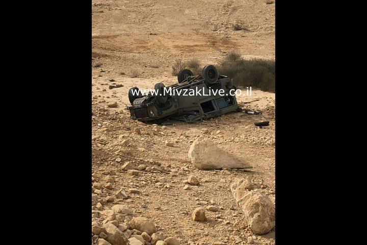 مفزاك لايف: إصابة عدد من قوات الاحتلال جراء انقلاب مركبتهم قرب إيلات