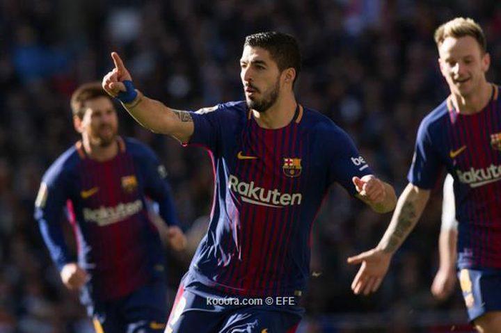برشلونة يقسو على ريال مدريد في كلاسيكو الأرض