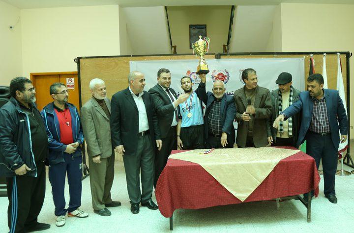 بلدية غزة تفوز ببطولة مئوية بلدية خان يونس لكرة الطاولة