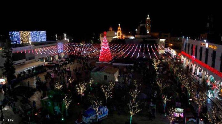 بيت لحم تتضامن مع القدس والحُزن يُخيّم على عيد الميلاد