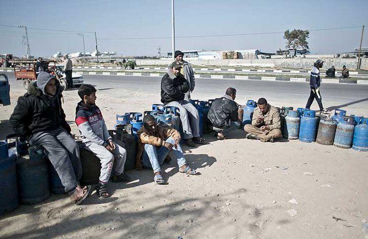 ما سبب ارتفاع البطالة في قطاع غزة؟