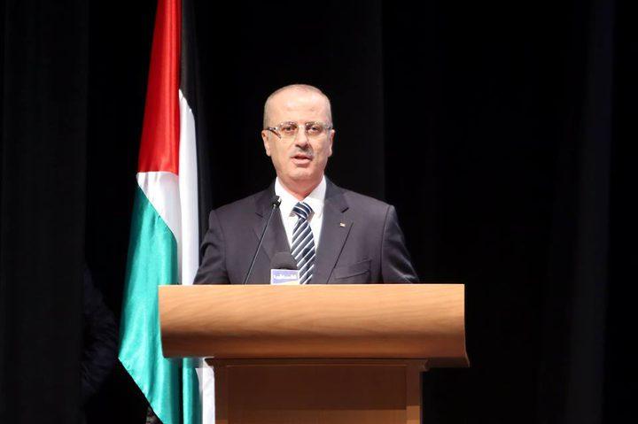 رئيس الوزراء يهنئ الشعب الفلسطيني ودول العالم بحلول الأعياد الميلادية المجيدة