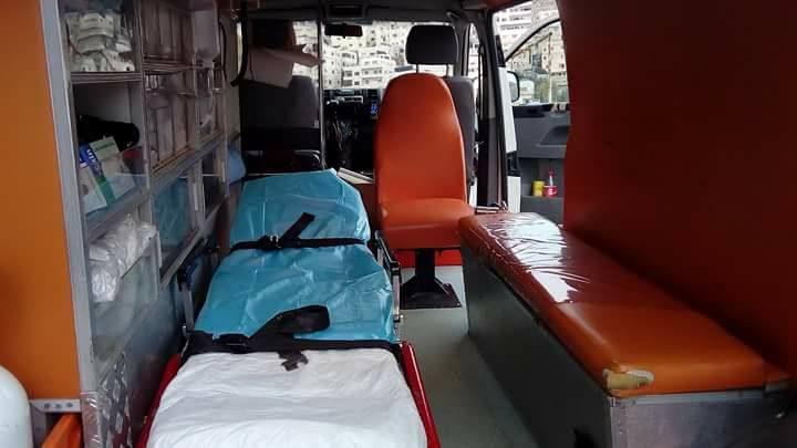إصابة مواطن في نابلس