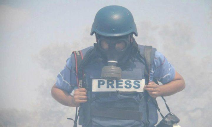 15 اعتداءً على الصحفيين في مواجهات الجمعة فقط