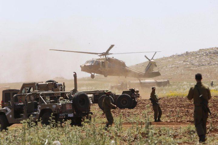 الاحتلال يبدأ تدريبات عسكرية واسعة بالنقب