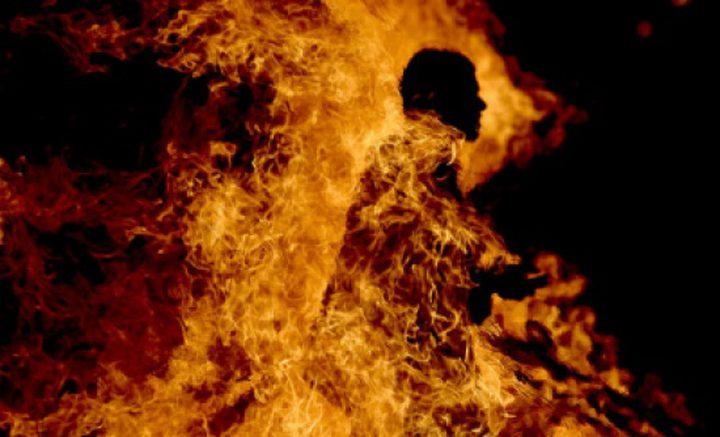 أشعل المدفأة في منزله فأحرق نفسه