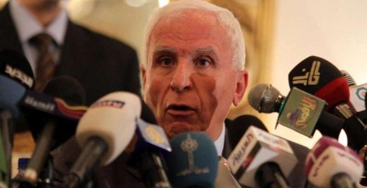 """الأحمد: """"المركزي"""" سيبحث إعلان أراضي67 دولة تحت الاحتلال"""