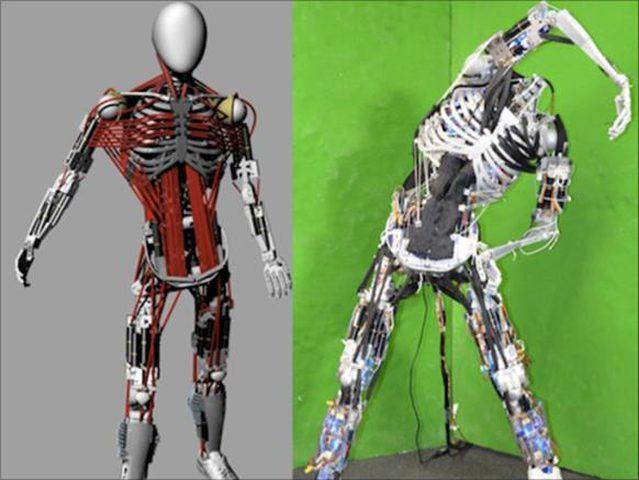 ابتكار أحدث روبوت بشكل بشري