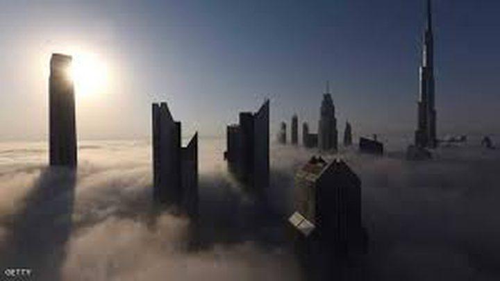 الضباب يؤثر على حركة الطيران في الإمارات