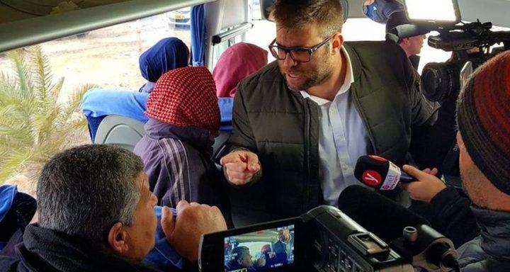 الصليب الأحمر يحمل الاحتلال مسؤولية تهجم حزان على عائلات الأسرى