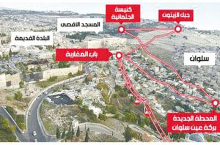"""الصحافة العبرية: مخطط القطار تحت البلدة القديمة """"حبر على ورق"""""""