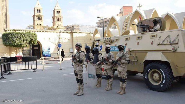 مصر.. استعدادات أمنية مكثفة قبل أعياد الميلاد
