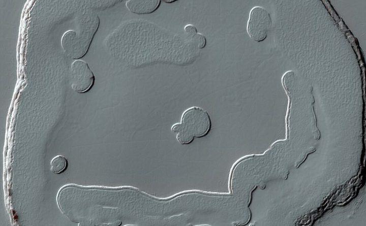 """ناسا تنشر صورة تبين ظهور""""رجل الثلج"""" في الفضاء"""