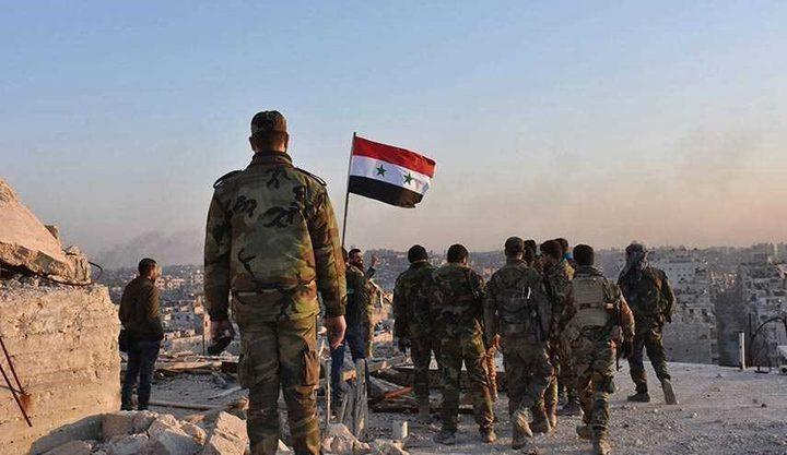 شاهد بالفيديو: لحظة دخول عناصر من الجيش السوري إلى قرية مغر المير