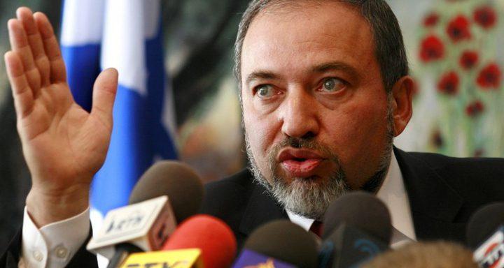 ليبرمان يهدد برد قوي اذا اندلعت حرب مع لبنان