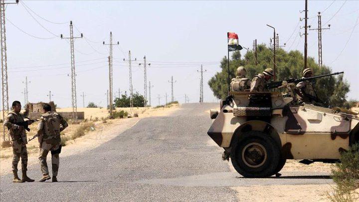 مقتل شرطي ومدني إثر استهداف قوة تأمين مصرف في سيناء