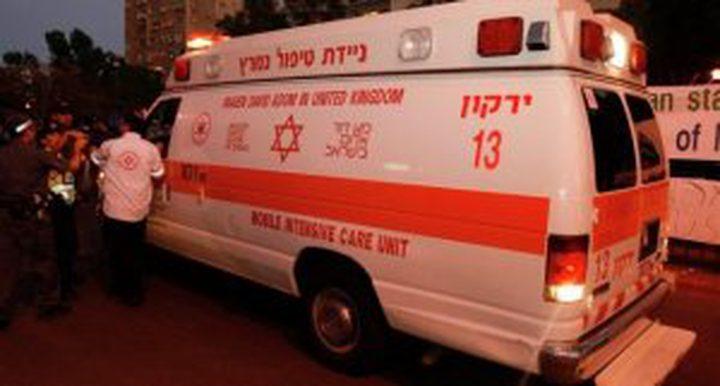 """إصابة """"حارس أمن"""" إسرائيلي خلال محاولة خطف سلاحه"""