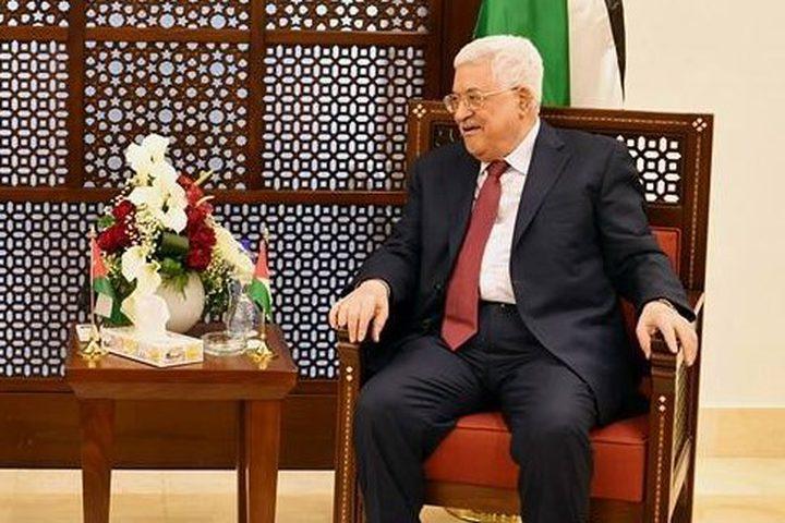 الرئيس يستقبل مفتي القدس والسفير المصري