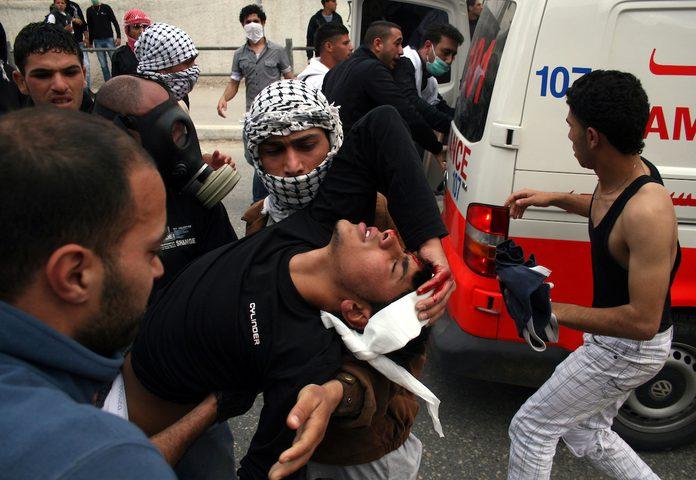 إصابات خلال مواجهات مع الاحتلال في رام الله