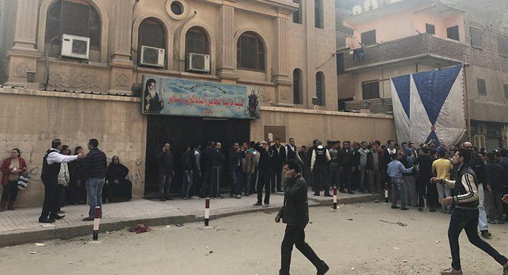 """""""داعش"""" يتبنى الهجوم على كنيسة حلوان"""