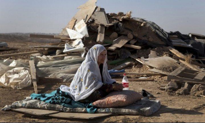 للمرة 123...الاحتلال يهدم قرية العراقيب