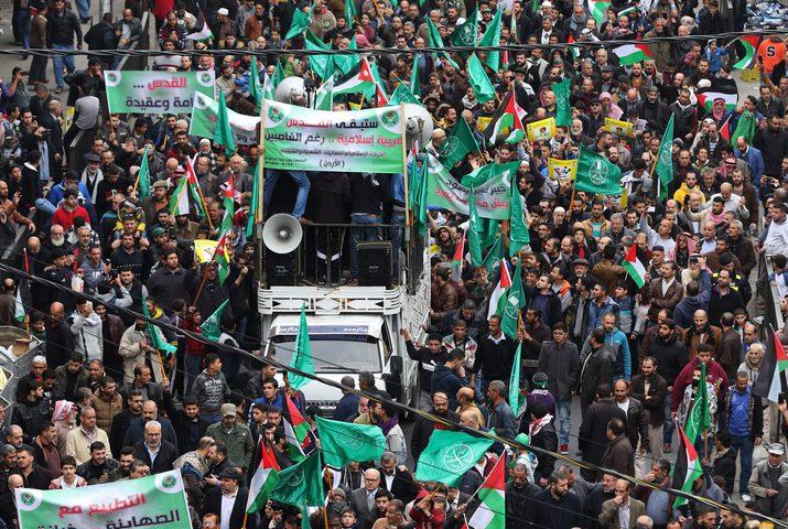 الأردن: ألف متظاهر رفضًا لقرار ترامب بشأن القدس