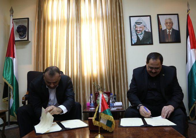 """صيدم والسوداني يوقعان اتفاقية لدعم القطاع التعليمي بدعم من """"الألكسو"""""""
