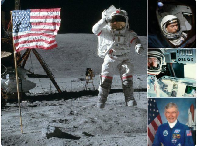 ناسا تنعى تاسع رائد فضاء وصل القمر