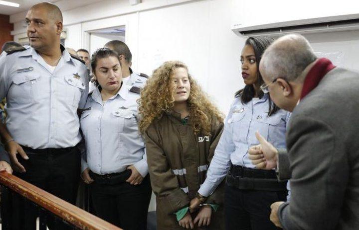 اعتقال مقدسيين خطوا عبارات تدعو للإفراج عن عهد التميمي