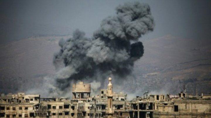 قتلى بغوطة دمشق نتيجة قصف سوري وروسي