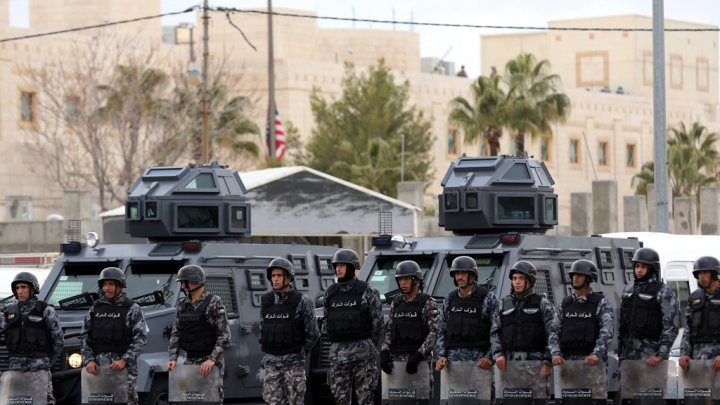 المخابرات الاردنية تعلن اعتقال 17 شخصا خططوا لعمليات ارهابية