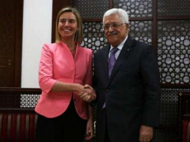 الرئيس عباس يلتقي وزراء الاتحاد الاوروبي نهاية الشهر الجاري
