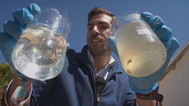 بكتيريا كهربائية لتنقية المياه العادمة